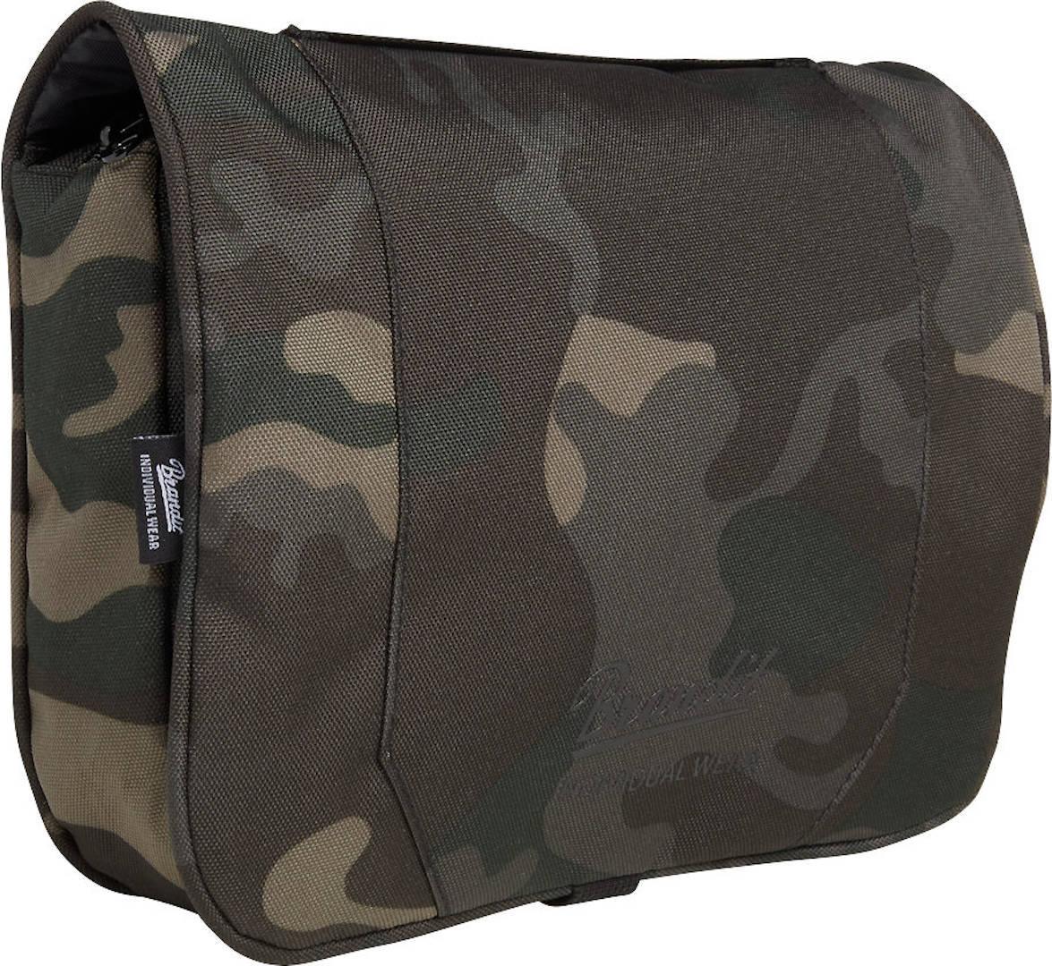 Brandit Large Toiletti laukku  - Musta Harmaa - Size: yksi koko