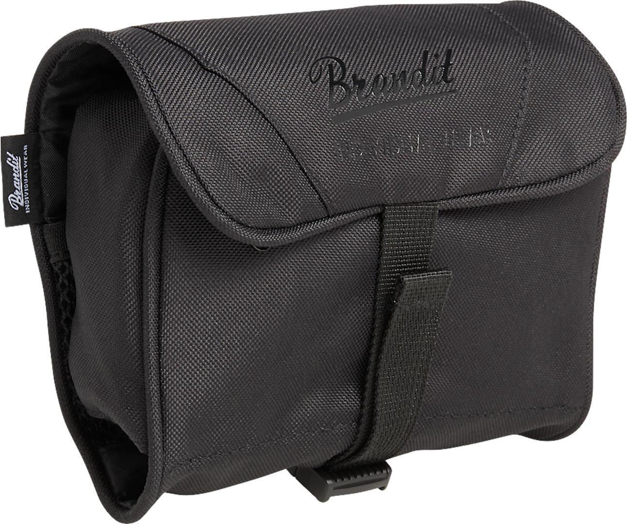 Brandit Medium Toiletti laukku  - Musta - Size: yksi koko