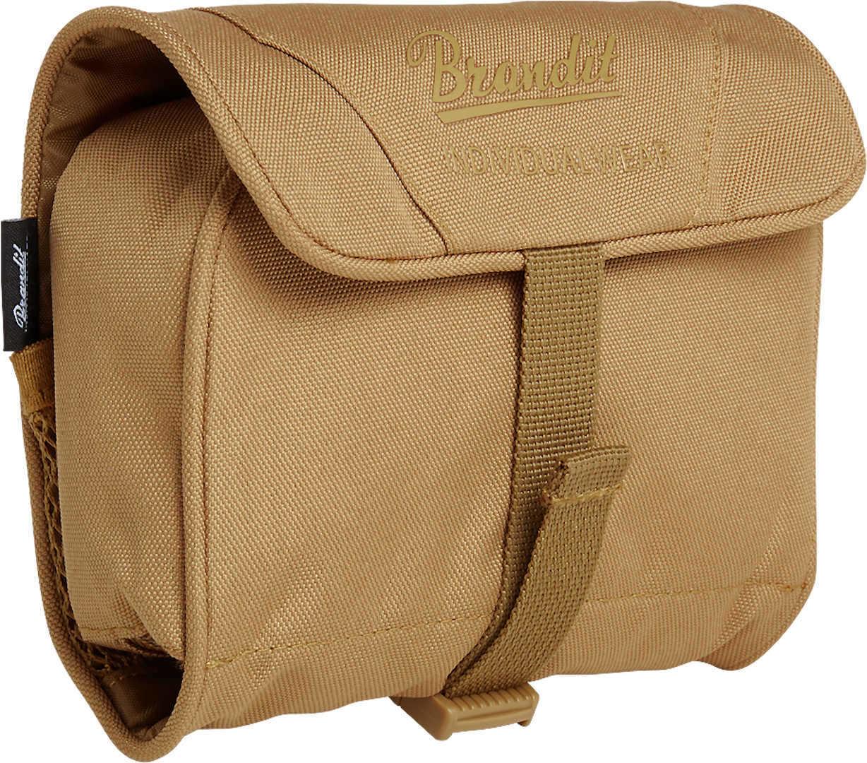 Brandit Medium Toiletti laukku  - Ruskea - Size: yksi koko