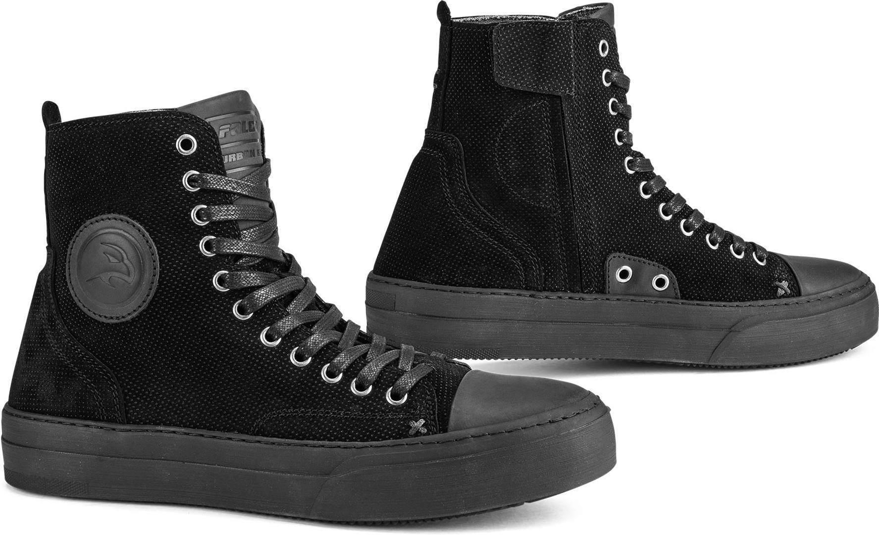 Falco Lennox Hyvät moottoripyörä kengät  - Musta - Size: 39