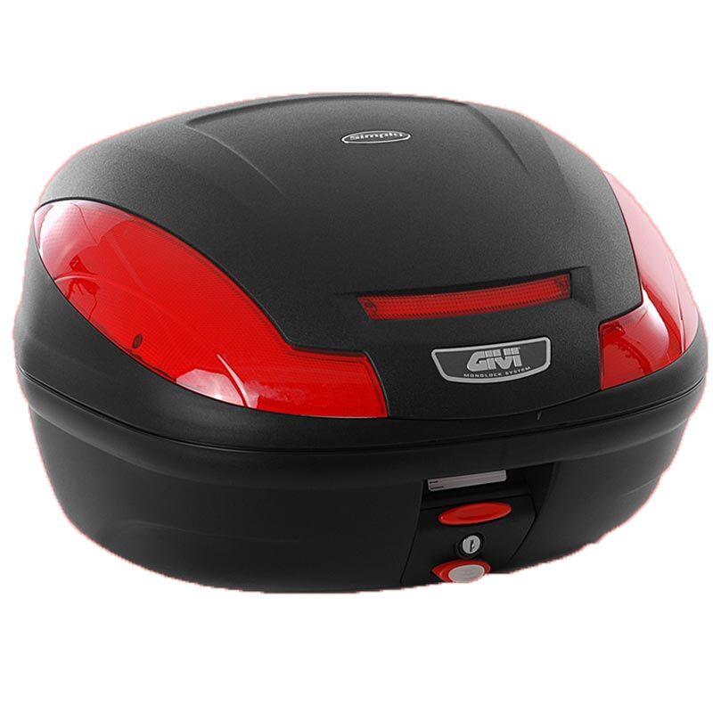 GIVI E470 Simply III Monolock Topcase lautasella  - Musta - Size: 41-50l