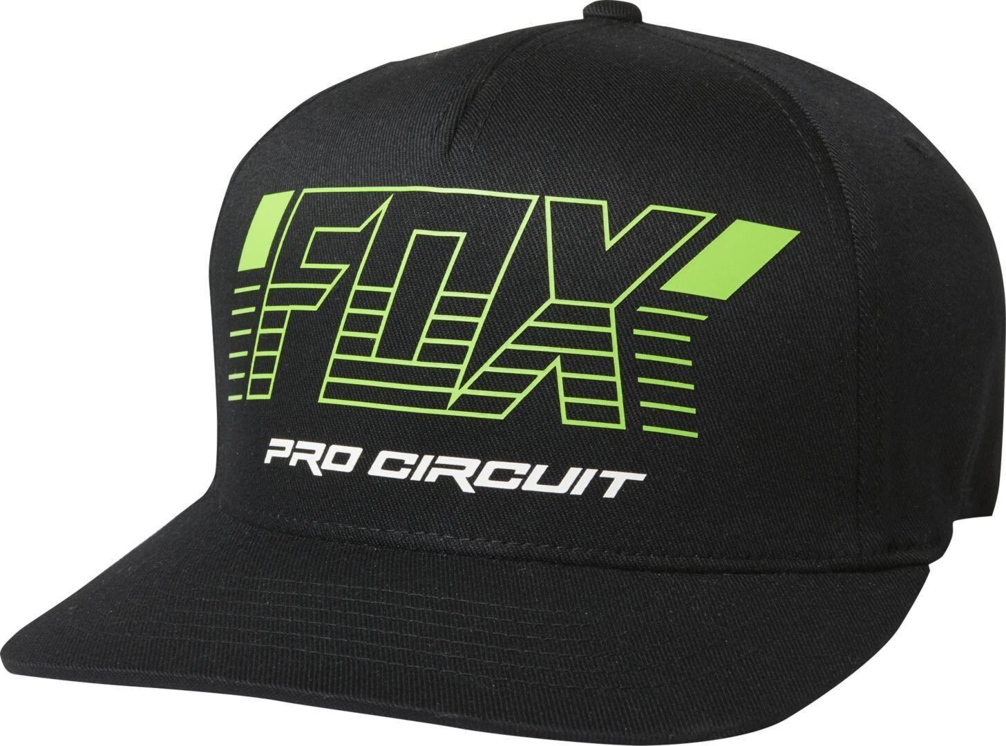 FOX Pro Circuit X Flexfit YMP: n  - Musta - Size: S M