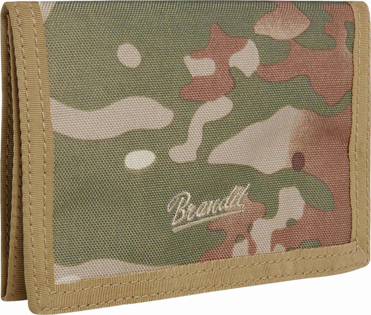 Brandit Three Lompakko  - Vihreä - Size: yksi koko