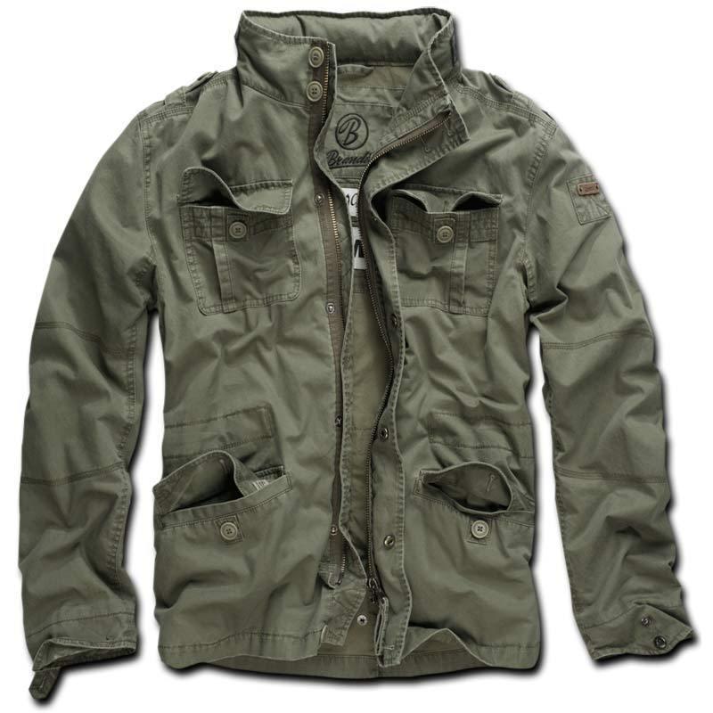 Brandit Britannia Takki  - Vihreä - Size: L