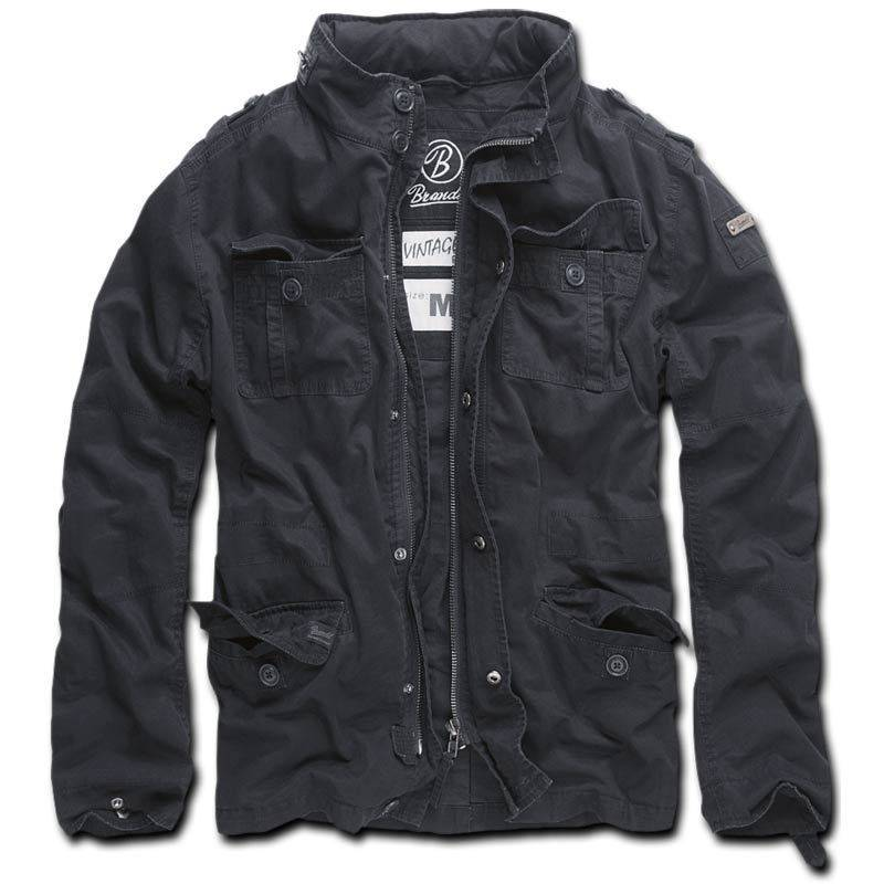 Brandit Britannia Takki  - Musta - Size: 2XL