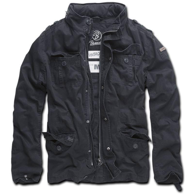 Brandit Britannia Takki  - Musta - Size: S