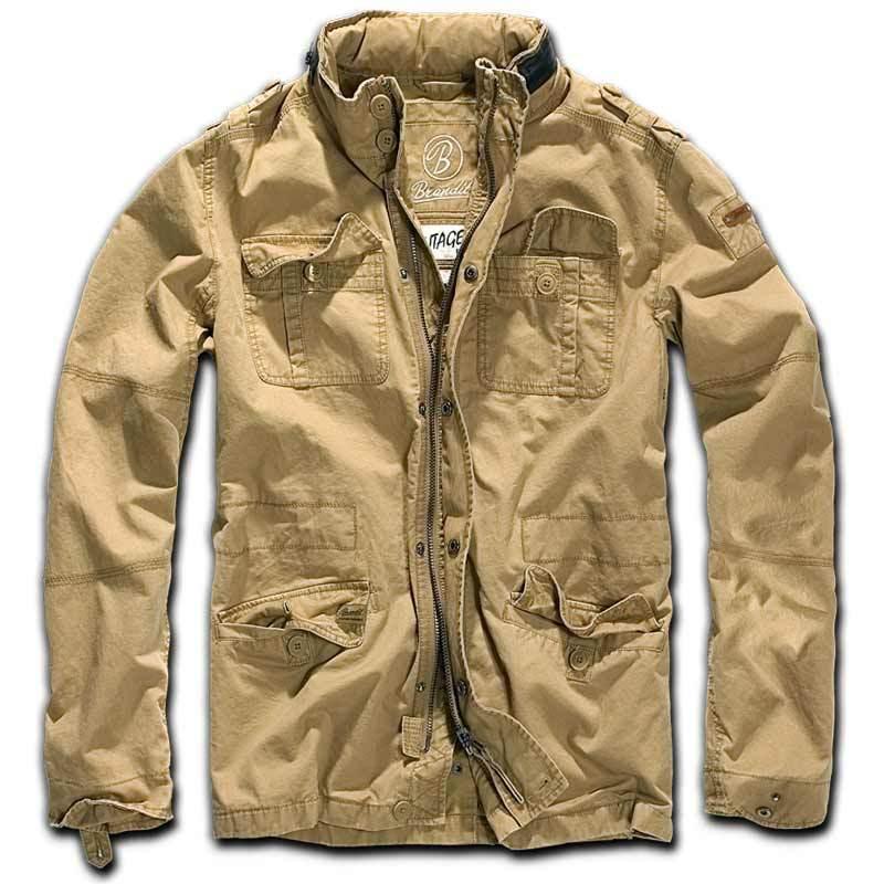 Brandit Britannia Takki  - Beige - Size: 2XL