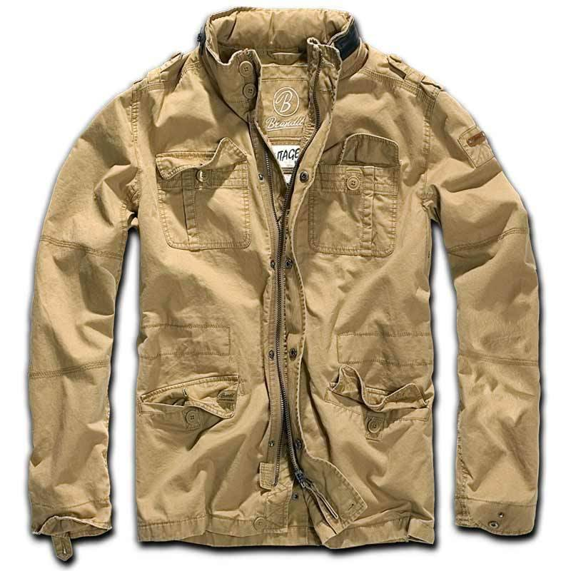 Brandit Britannia Takki  - Beige - Size: XL