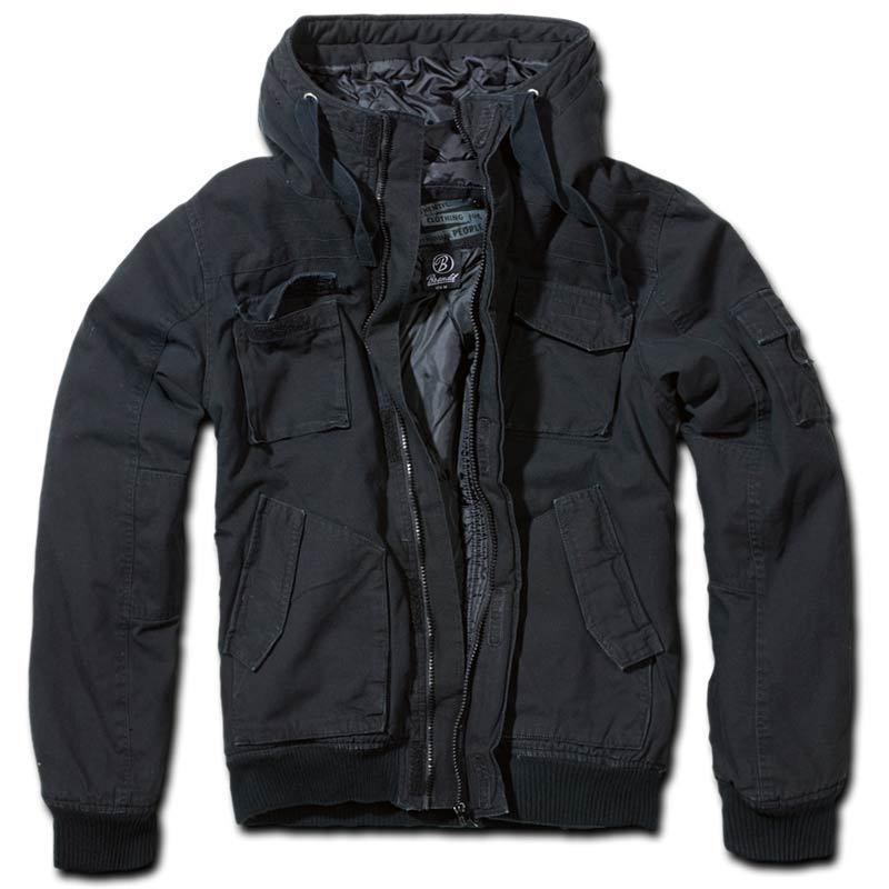 Brandit Bronx Takki  - Musta - Size: 2XL