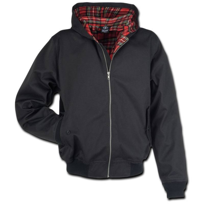 Brandit Lord Canterbury Hooded Takki  - Musta - Size: 2XL