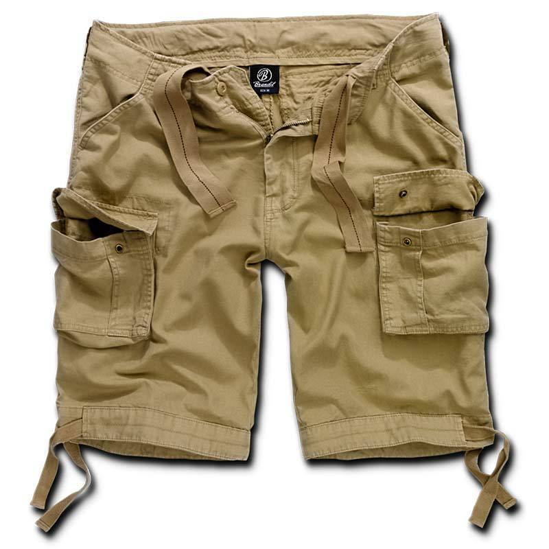 Brandit Urban Legend Shortsit  - Beige - Size: 7XL