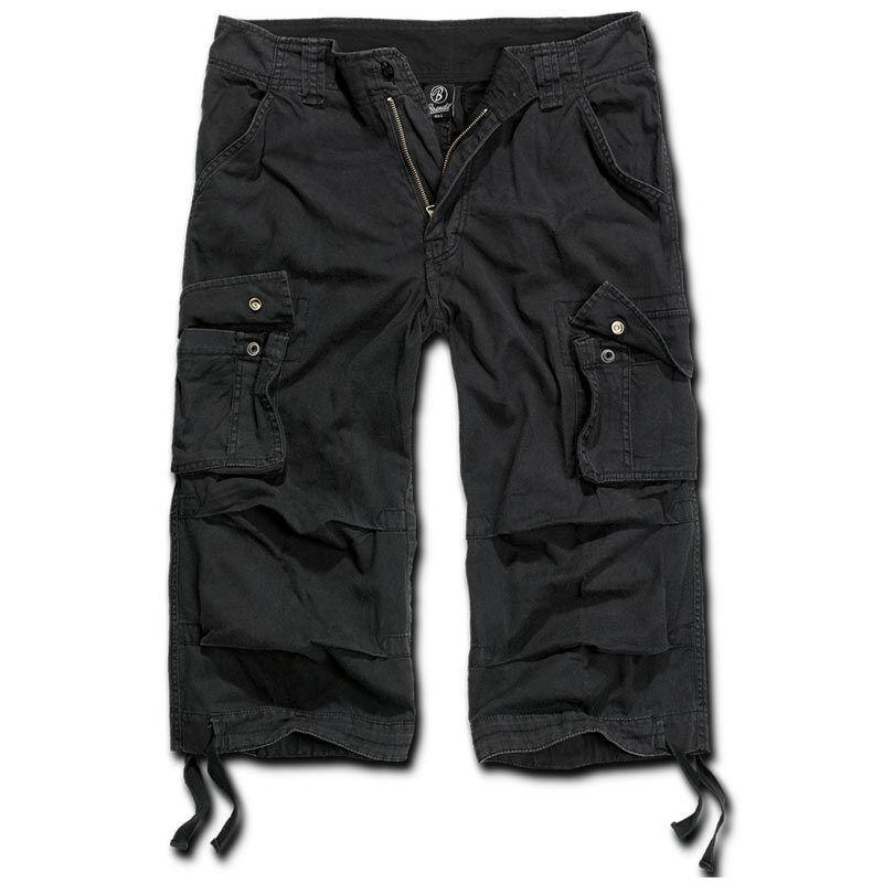 Brandit Urban Legend 3/4 Shortsit  - Musta - Size: M
