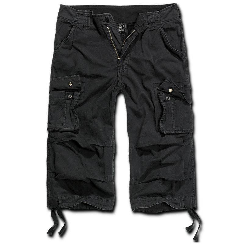 Brandit Urban Legend 3/4 Shortsit  - Musta - Size: L