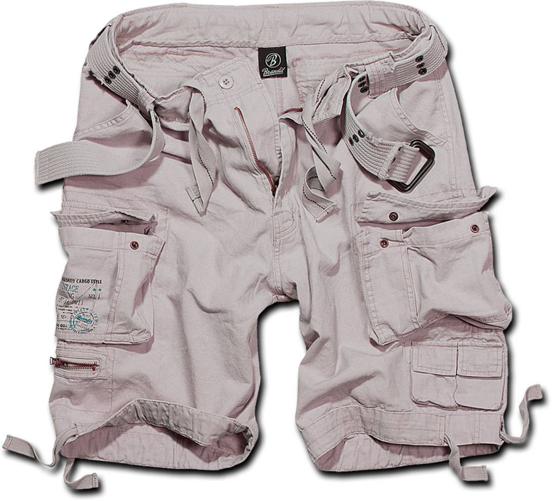 Brandit Savage Shortsit  - Valkoinen - Size: 7XL