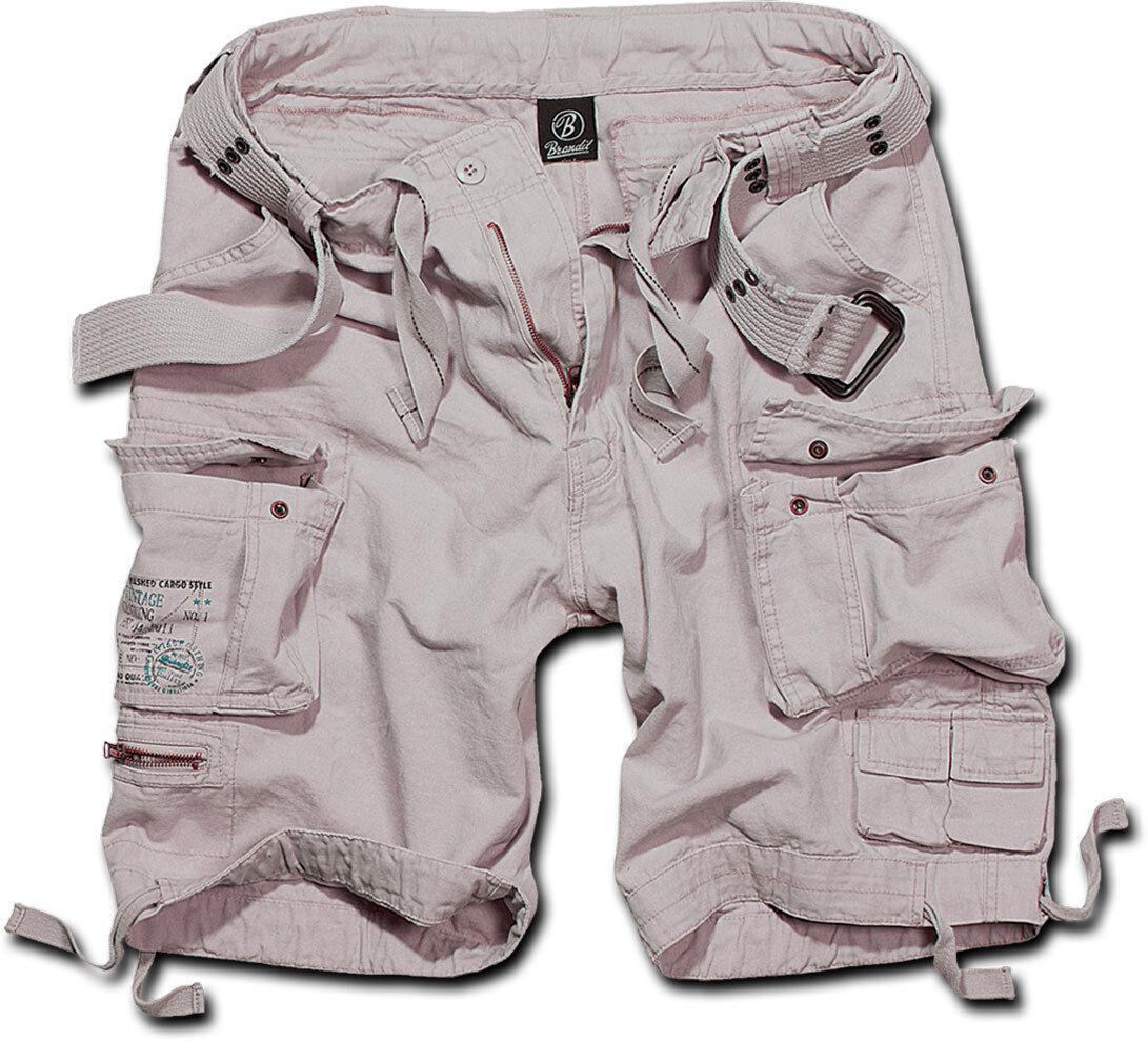 Brandit Savage Shortsit  - Valkoinen - Size: M