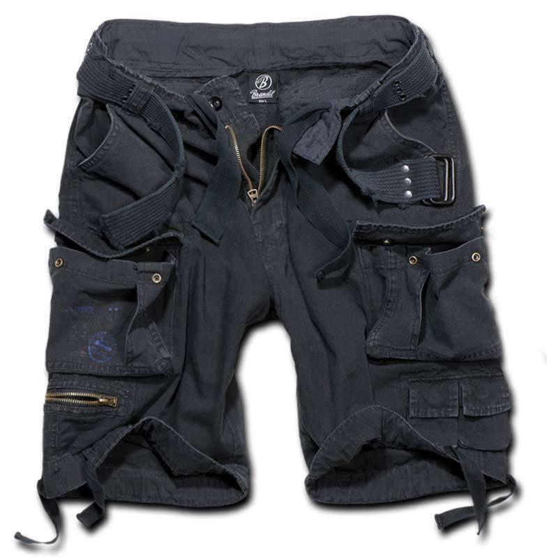 Brandit Savage Shortsit  - Musta - Size: 6XL
