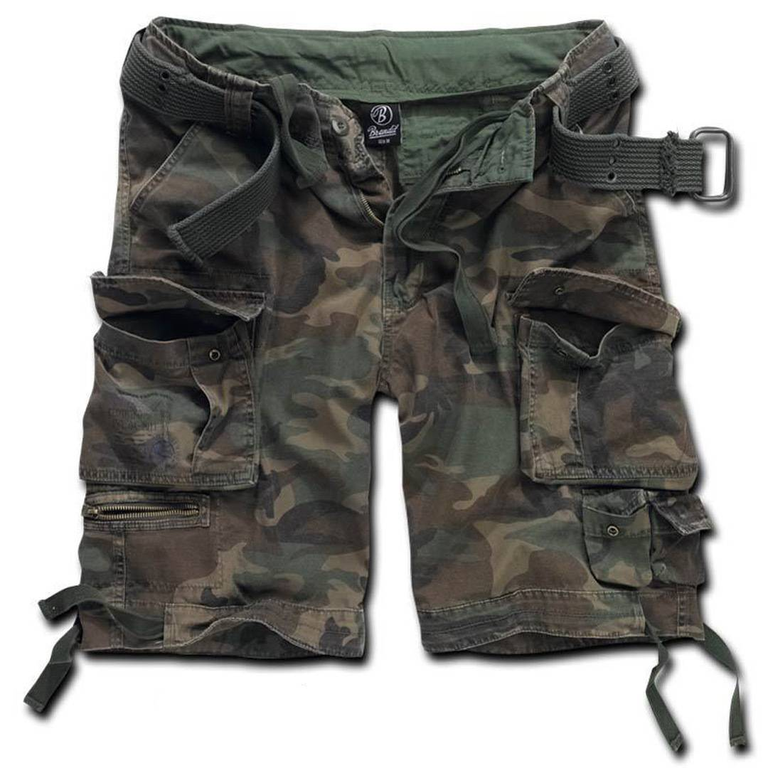 Brandit Savage Shortsit  - Vihreä - Size: XL