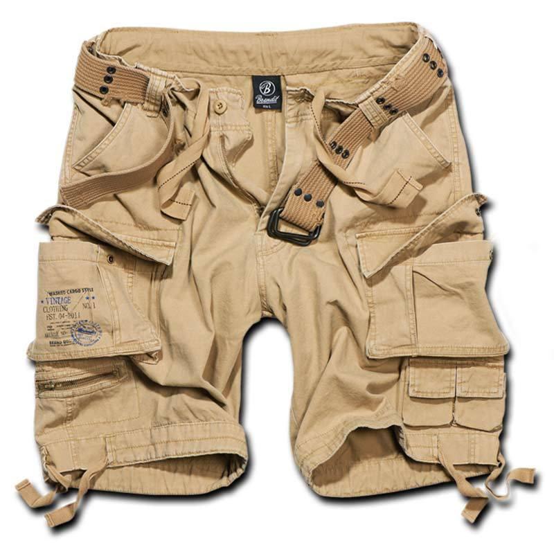 Brandit Savage Shortsit  - Beige - Size: 7XL