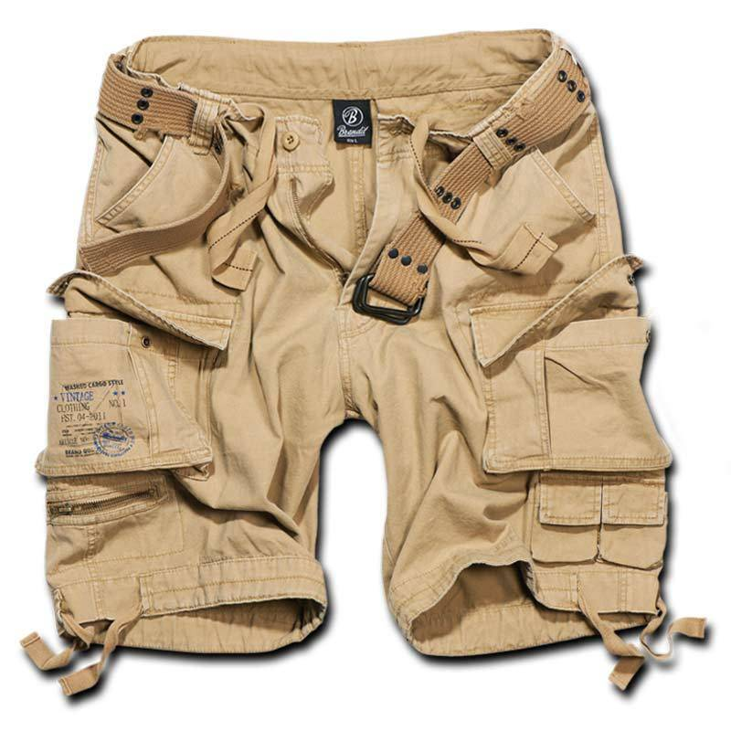 Brandit Savage Shortsit  - Beige - Size: 3XL