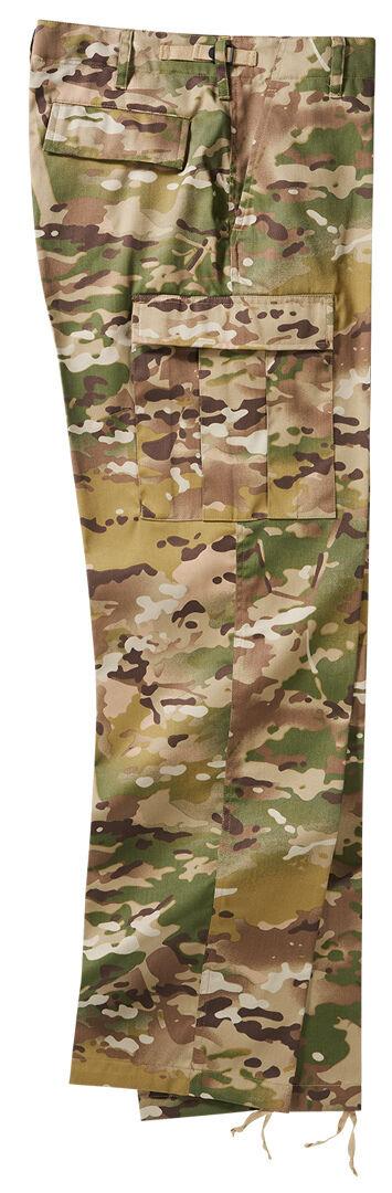 Brandit US Ranger Housut  - Vihreä Monivärinen - Size: 3XL