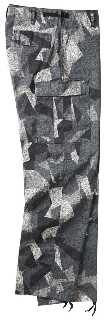 Brandit US Ranger Housut  - Musta Harmaa - Size: S