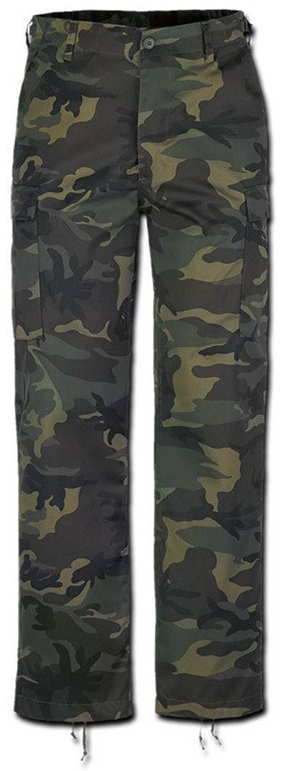 Brandit US Ranger Housut  - Vihreä - Size: M