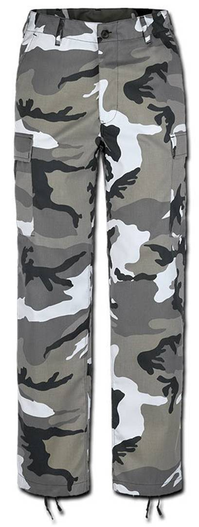 Brandit US Ranger Housut  - Harmaa - Size: L