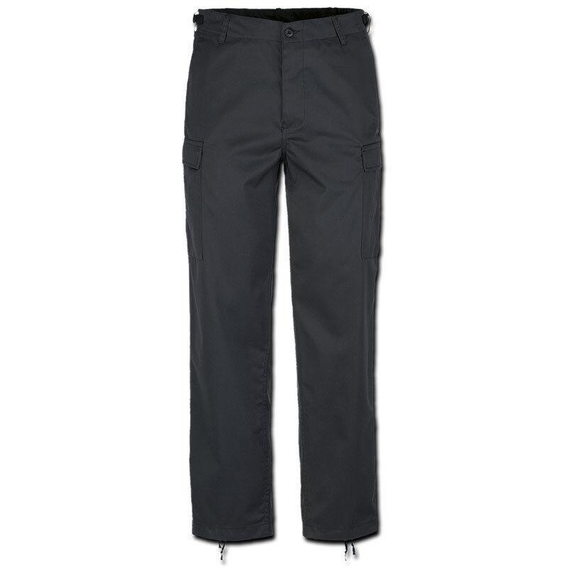 Brandit US Ranger Housut  - Musta - Size: 2XL