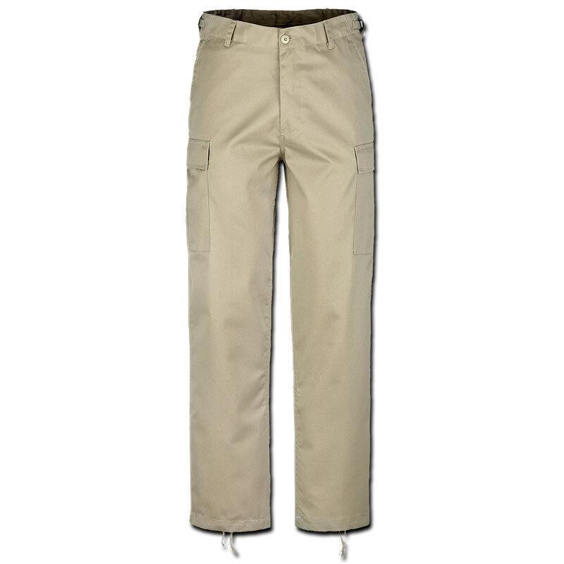 Brandit US Ranger Housut  - Beige - Size: S