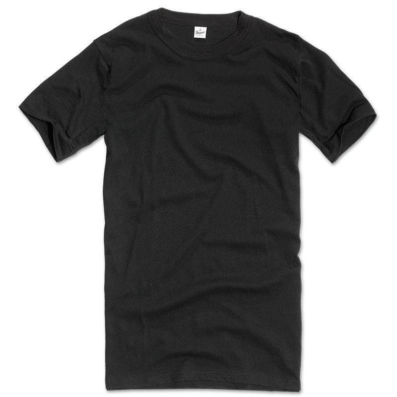 Brandit BW Original Aluspaita  - Musta - Size: L