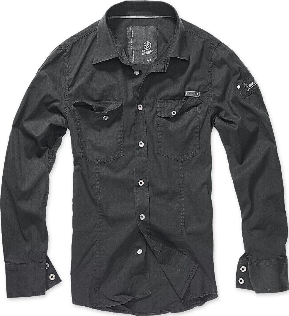 Brandit SlimFit Paita  - Musta - Size: XL