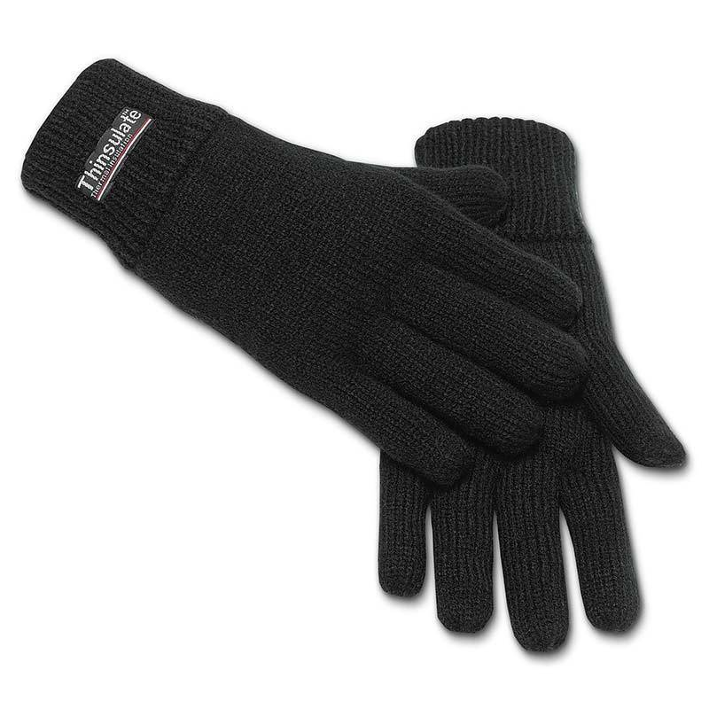 Brandit Knitted Käsineet  - Musta - Size: L