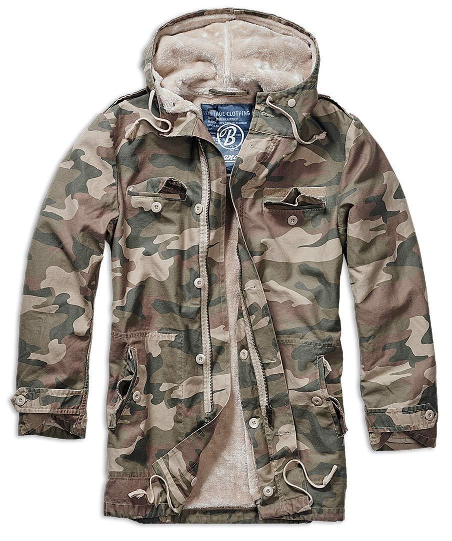 Brandit BW Parka takki  - Vihreä - Size: 4XL