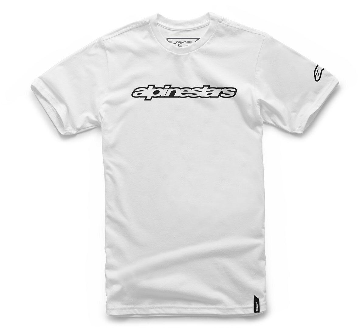 Alpinestars Wordmark T-paita  - Valkoinen - Size: L