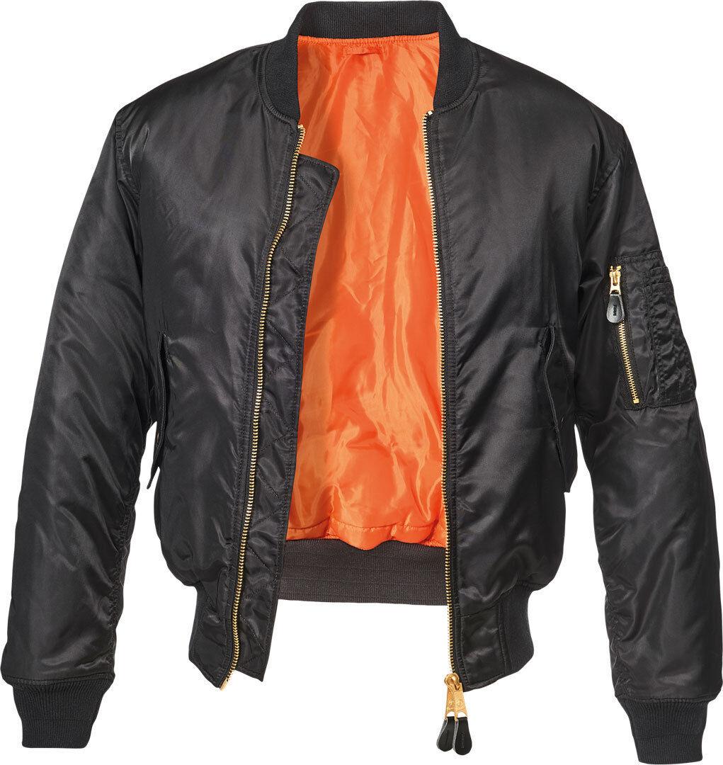 Brandit MA1 Classic Takki  - Musta - Size: M