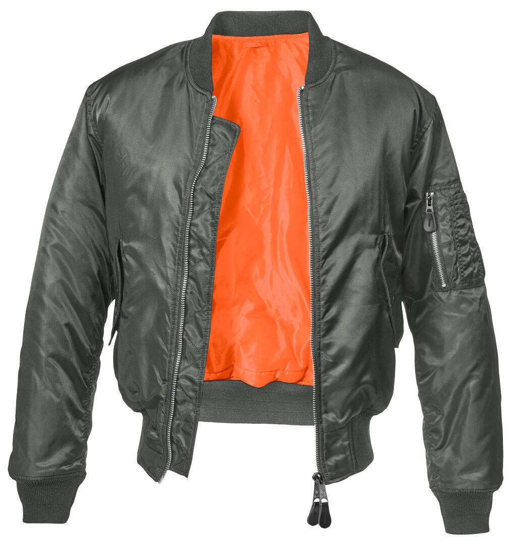 Brandit MA1 Classic Takki  - Musta Harmaa - Size: L