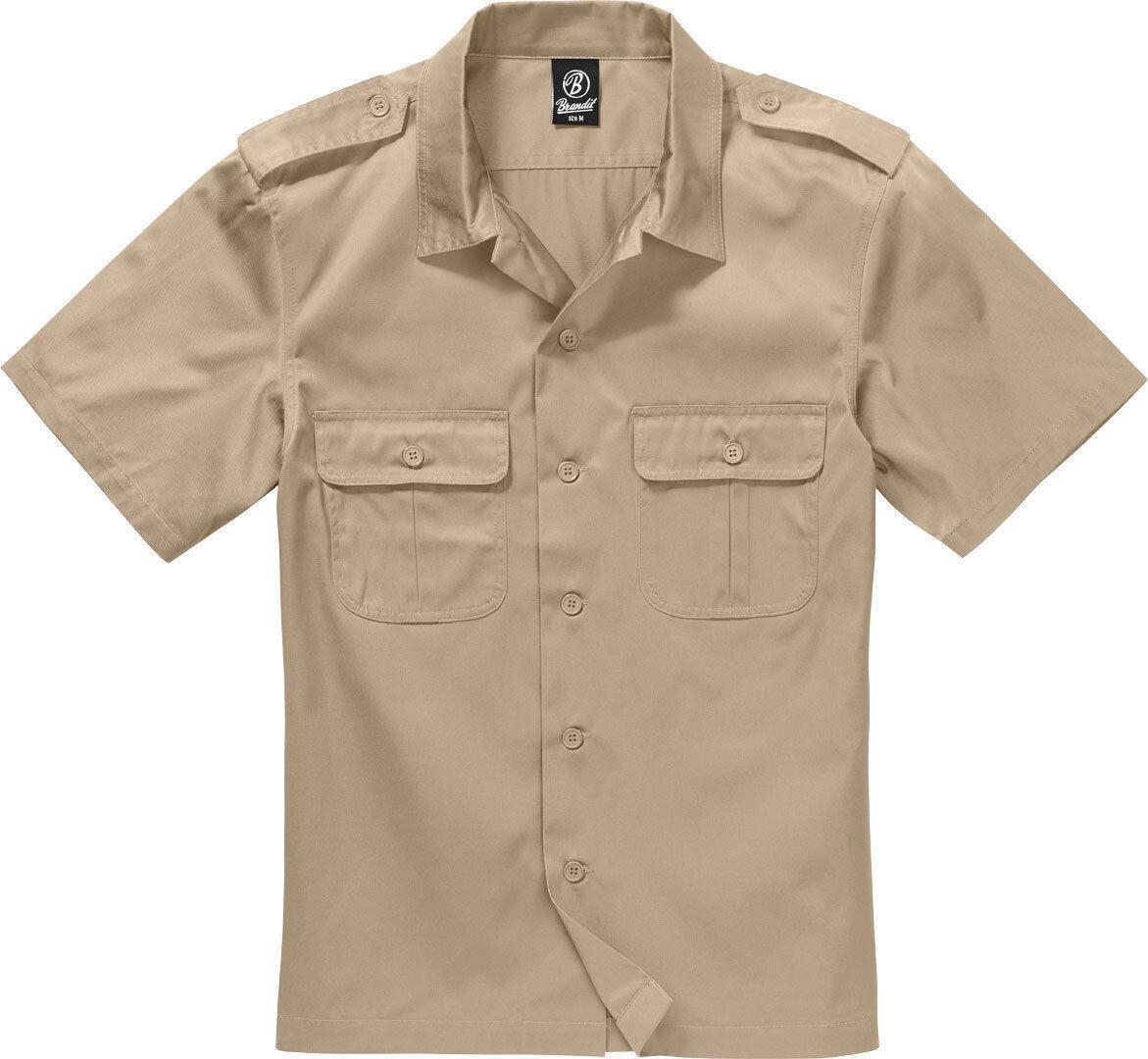 Brandit Us 1/2 Paita  - Beige - Size: 4XL