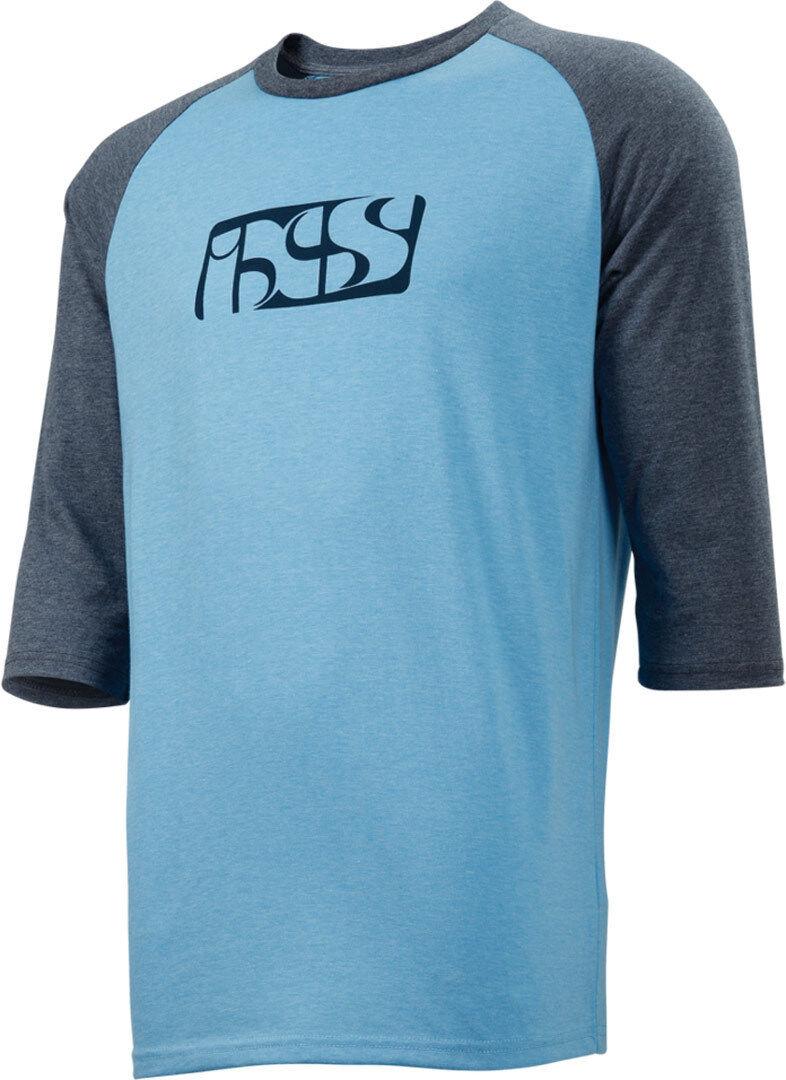 IXS Brand Tee 3/4 T-paita  - Sininen - Size: M