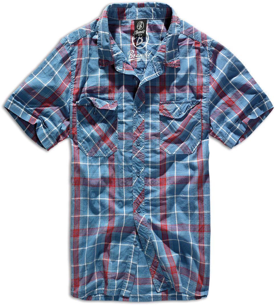 Brandit Roadstar Paita  - Punainen Sininen - Size: M