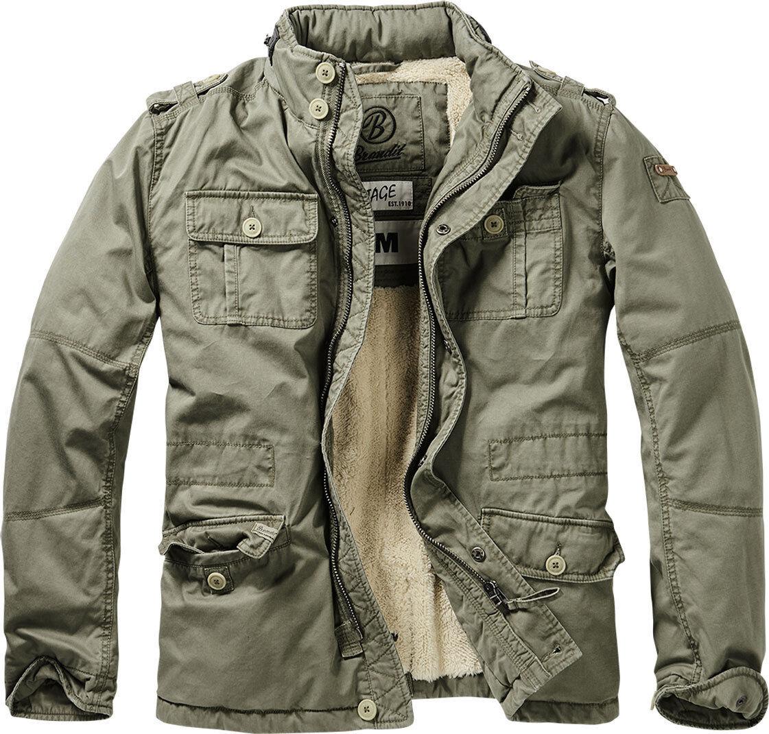 Brandit Britannia Winter Takki  - Vihreä - Size: 5XL