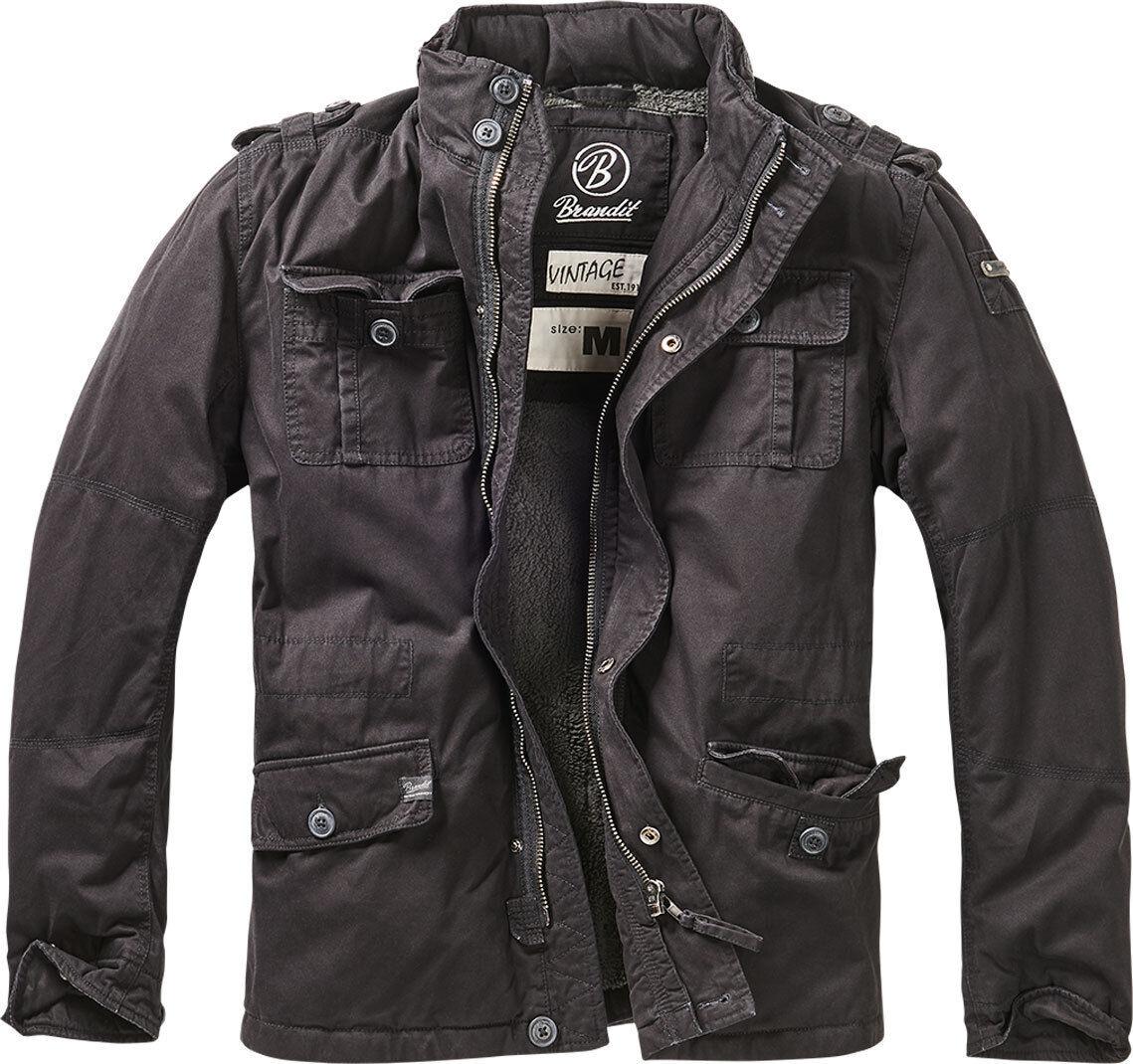 Brandit Britannia Winter Takki  - Musta - Size: 4XL