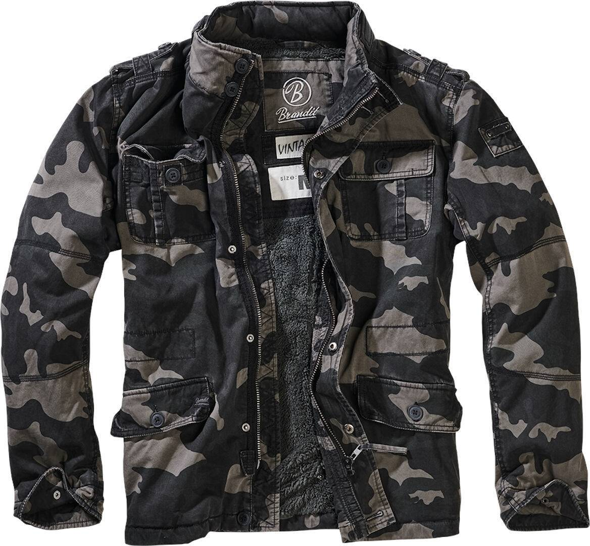 Brandit Britannia Winter Takki  - Monivärinen - Size: S