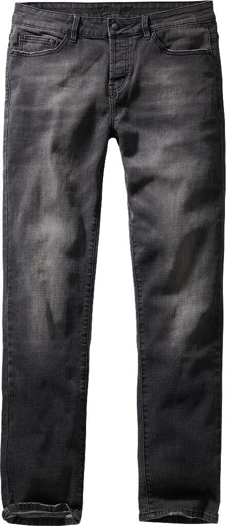 Brandit Rover Denim Jeans Housut  - Musta - Size: 33