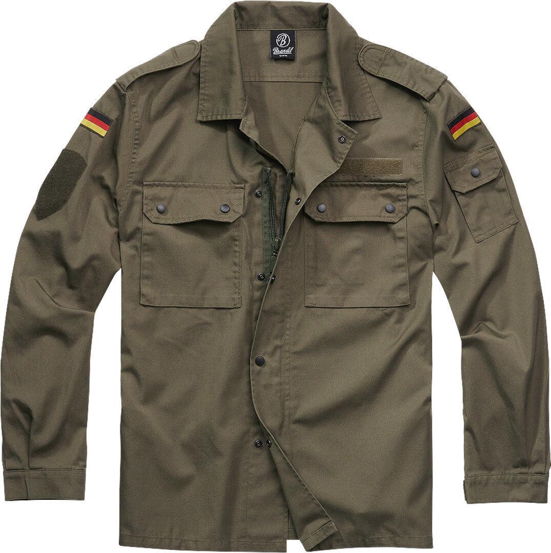 Brandit BW pellin pusero takki  - Vihreä - Size: L