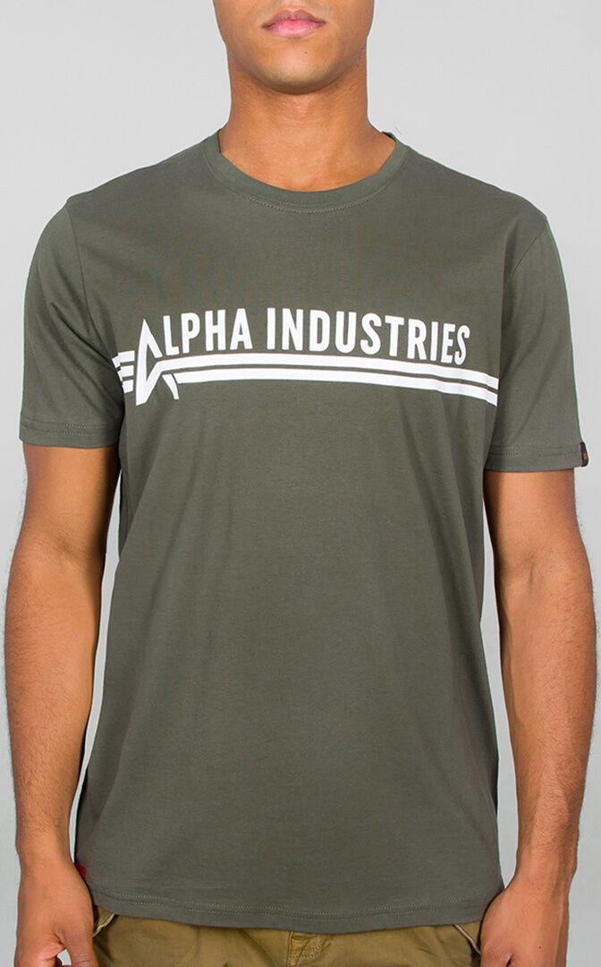 Alpha Industries T-paita  - Vihreä - Size: 3XL