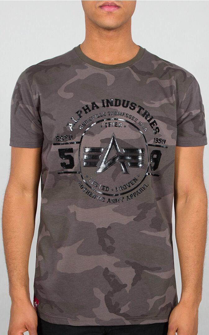Alpha Industries Authentic Vinyl T-paita  - Monivärinen - Size: M