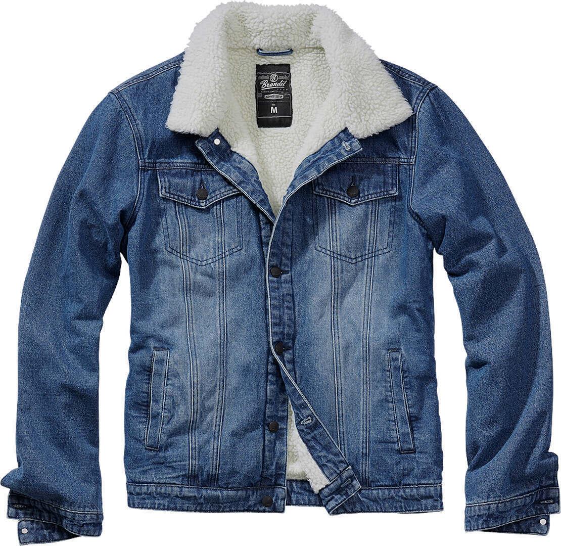 Brandit Sherpa Denim Takki  - Sininen - Size: 4XL