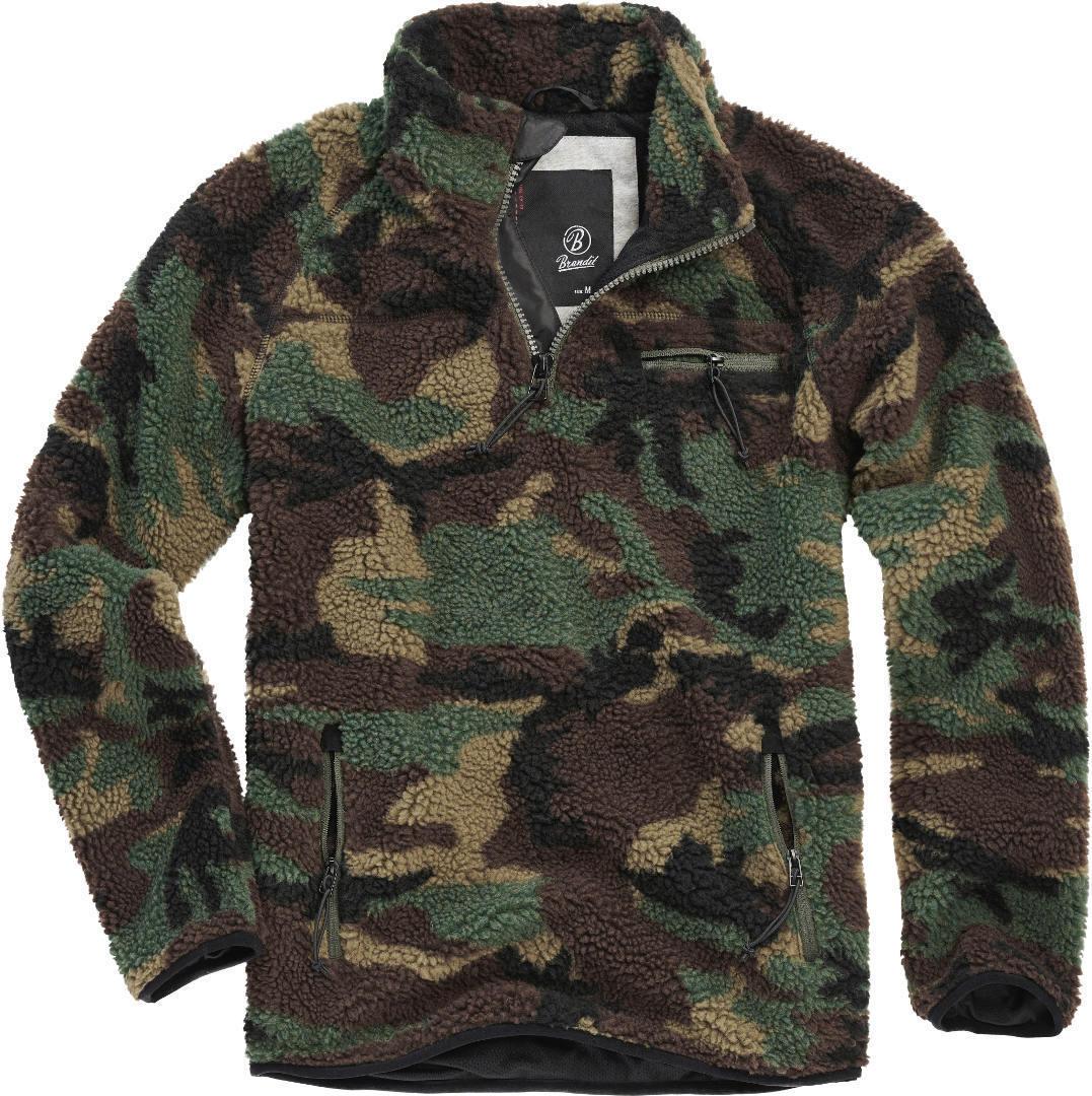 Brandit Teddyfleece Pullover  - Monivärinen - Size: 2XL