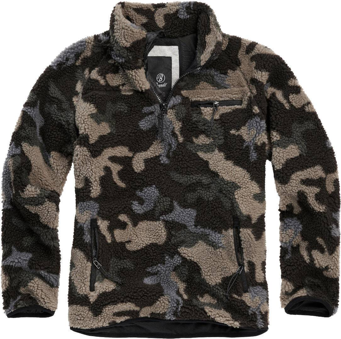 Brandit Teddyfleece Pullover  - Monivärinen - Size: XL