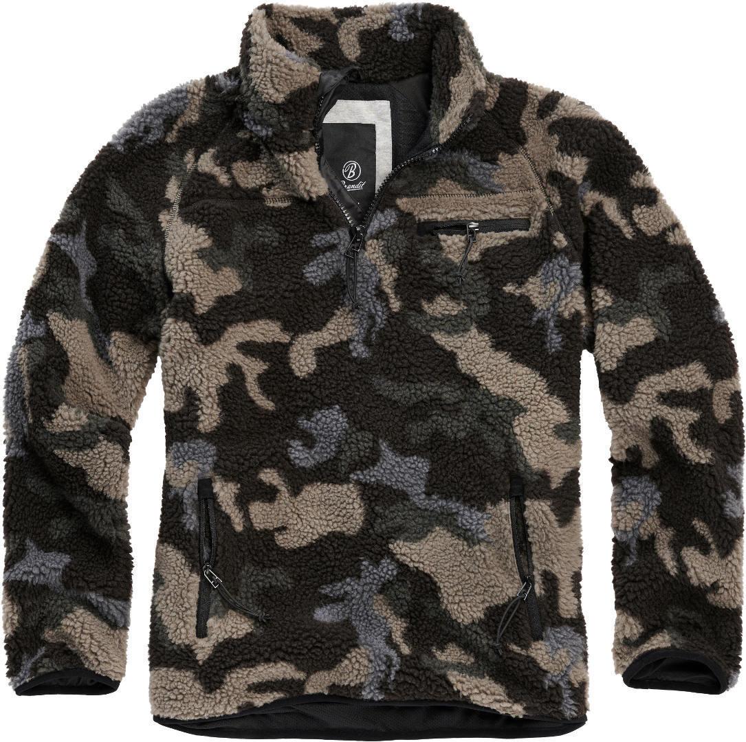 Brandit Teddyfleece Pullover  - Monivärinen - Size: L